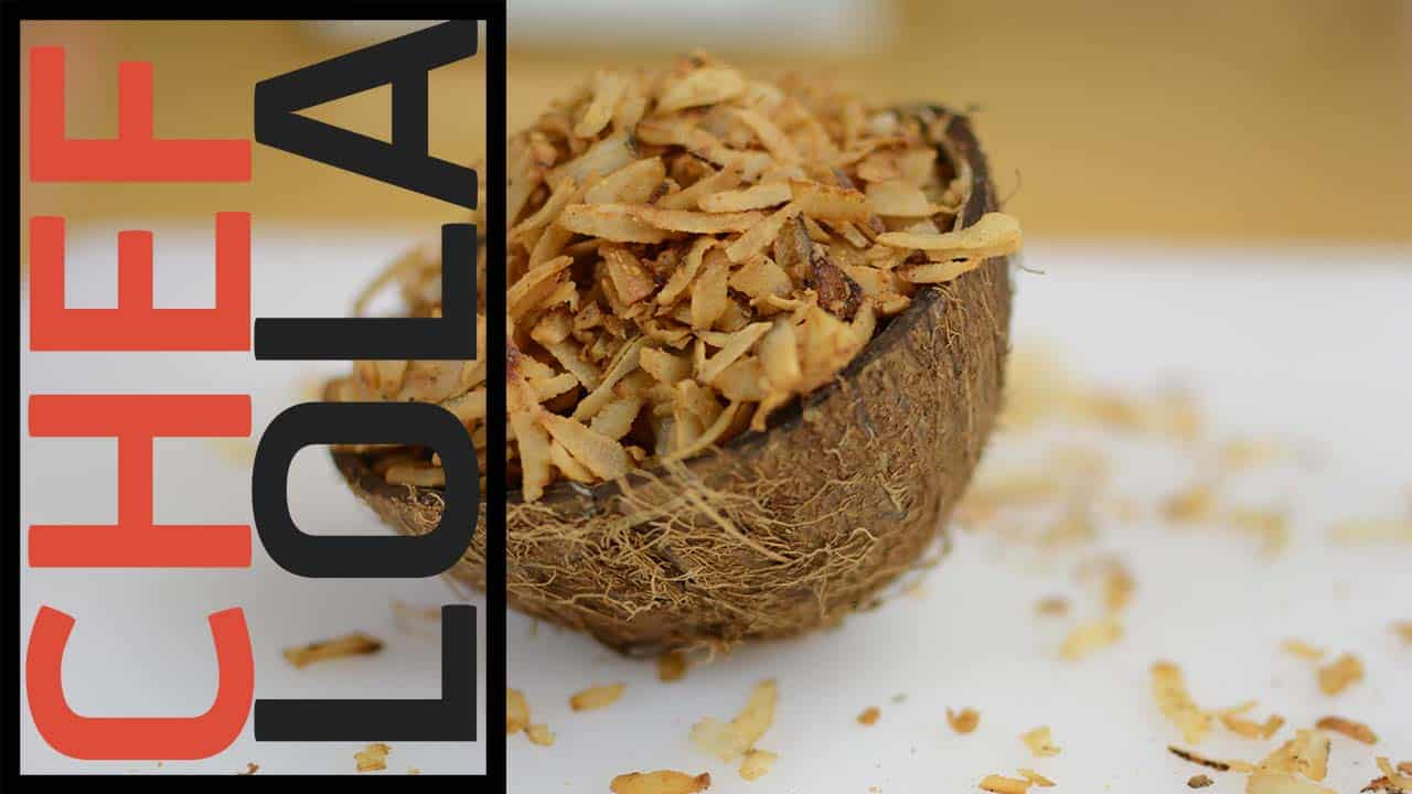 Toasted Sweet Coconut Flakes