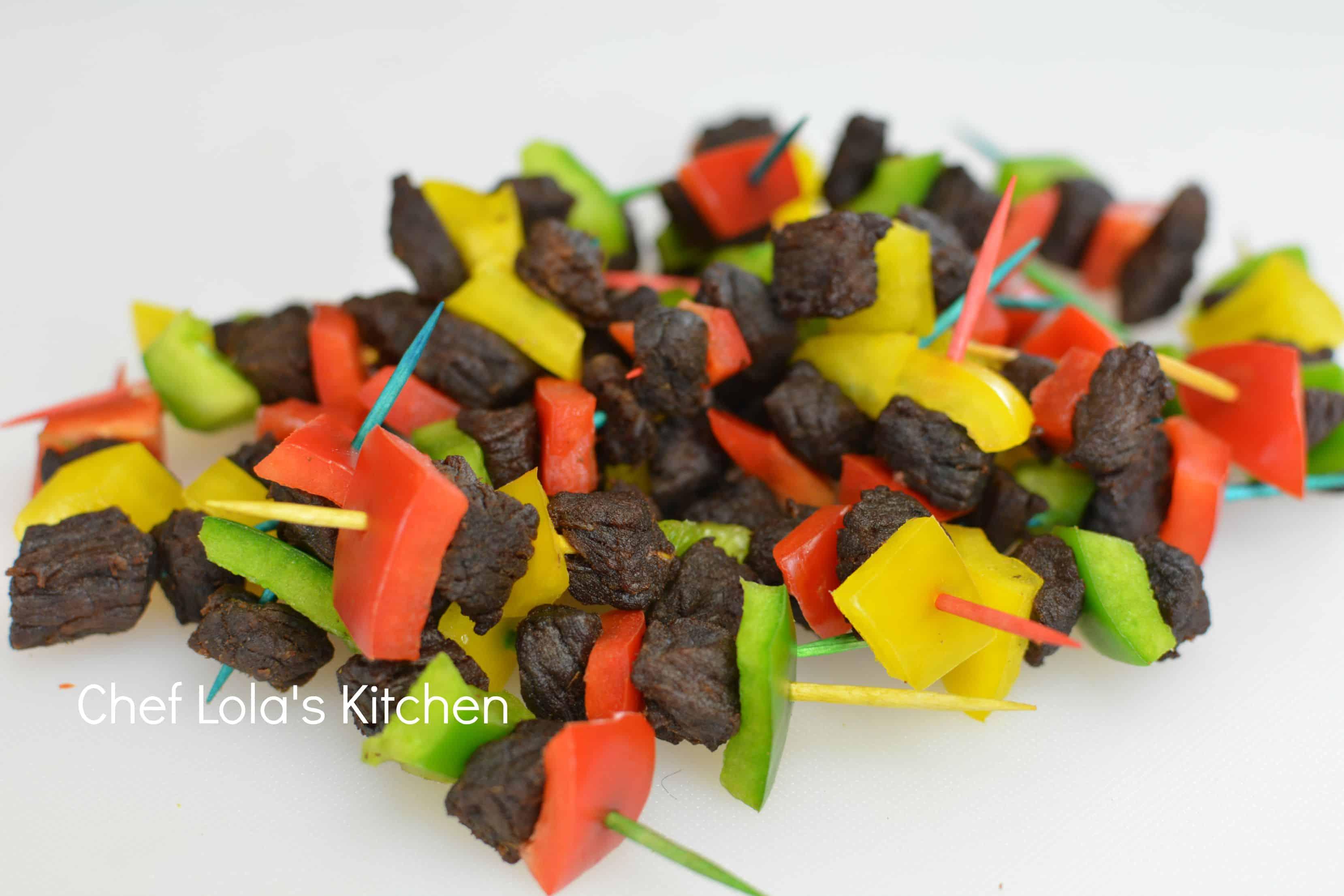 nigerian stick meat
