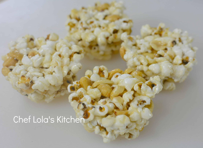 Honey Popcorn Cupcakes