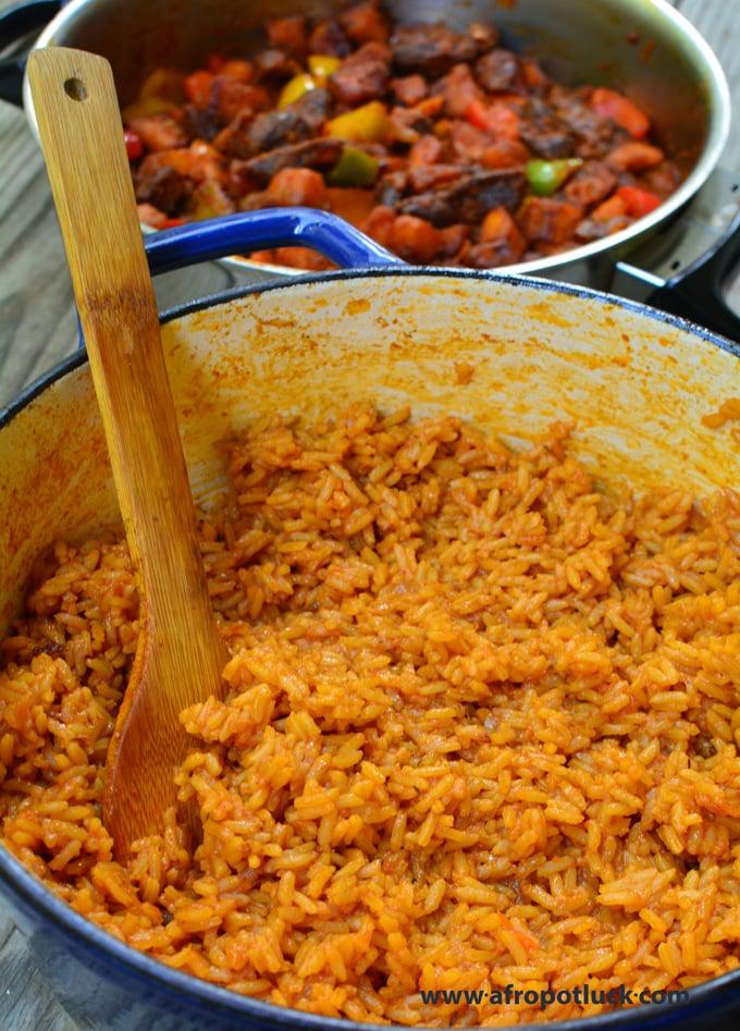 Jollof Rice - Chef Lola's Kitchen