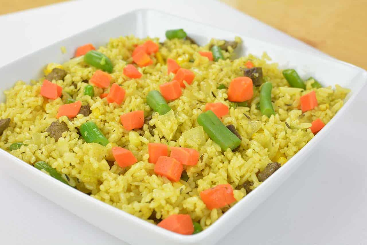 Nigerian fried rice recipe easy way to make the nigerian fried rice ccuart Gallery