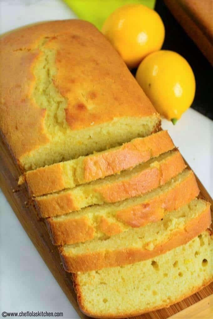 Easy Lemon Cake recipe - the edges bake up crispy!