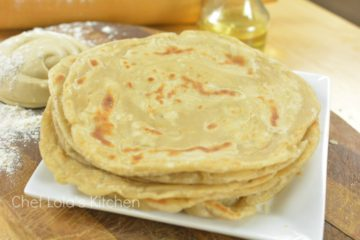 Simple and easy to make east African Chapati