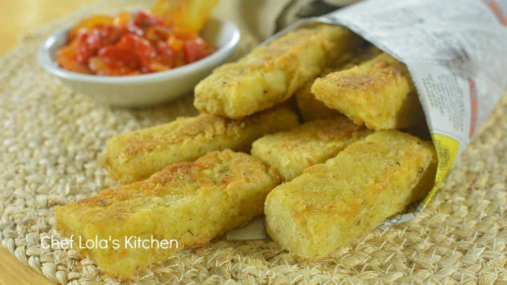 Fried Puna Yam