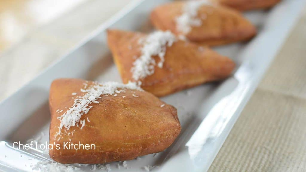 Sweet Fried Bread Mandazi Mahamri Chef Lolas Kitchen