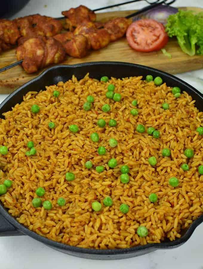 Jollof Rice – Oven baked
