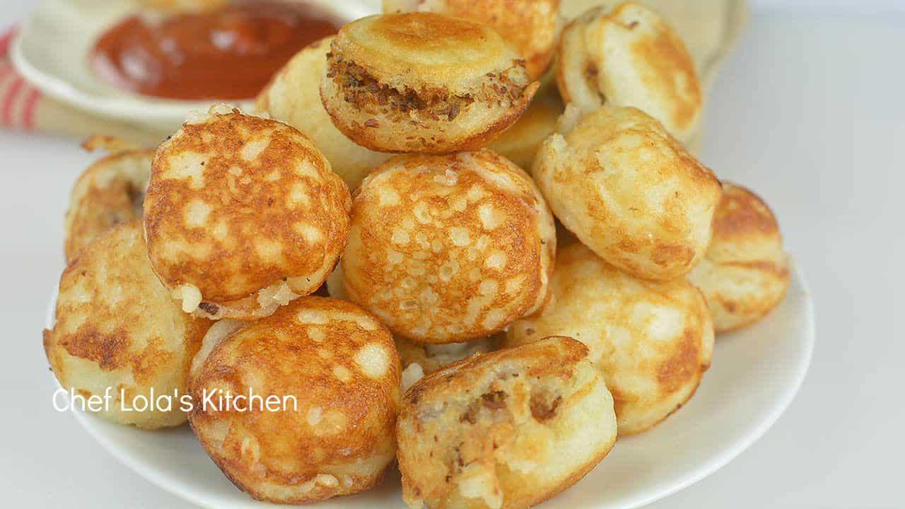 Stuffed savory Masa (Waina)