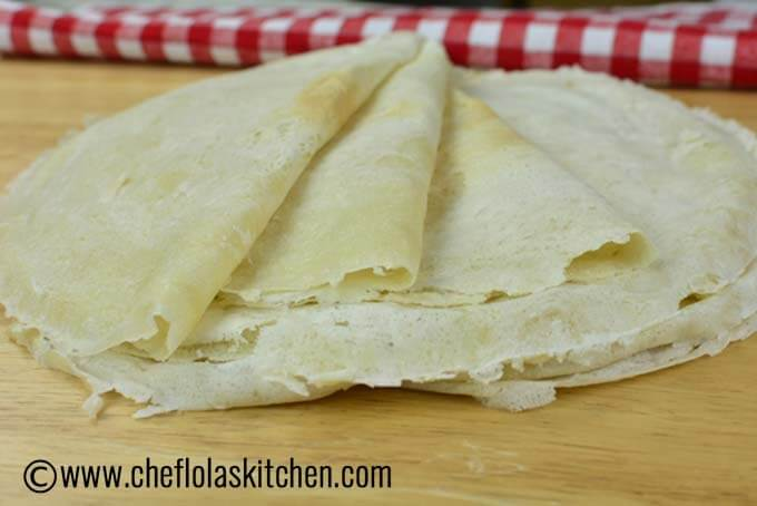 Lumpia wrapper Recipe – How to make Lumpia wrappers