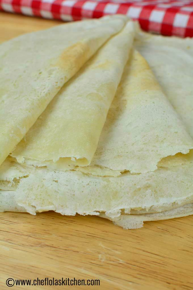 lumpia wrappers or spring roll wrappers