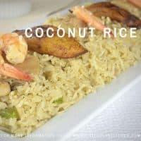 Coconut Rice (Nigerian style)