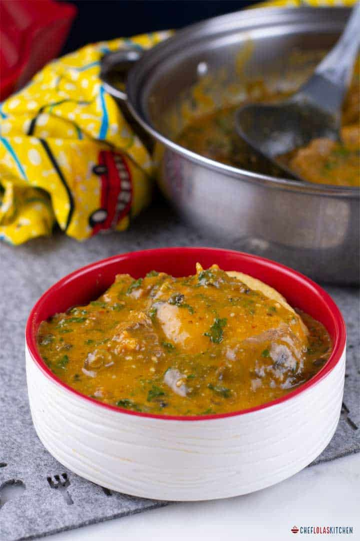 Ogbono Soup | Chef Lola's Kitchen