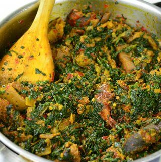 Spinach Stew (Efo Riro) - Chef Lola's Kitchen
