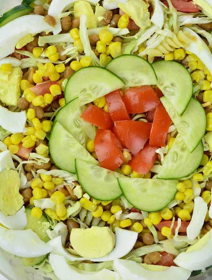 The classic Nigerian Salad