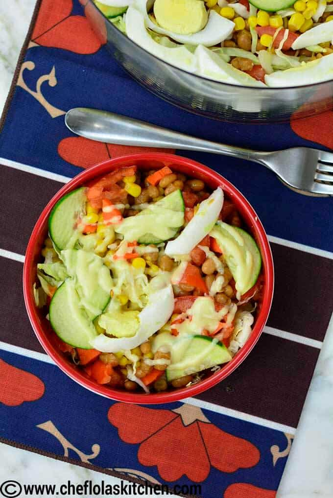 Classic Nigerian Salad