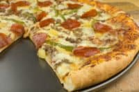 Homemade Pizza Recipe (from scratch)