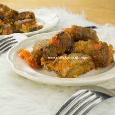 Asun (Nigerian smoked Goat Meat recipe)
