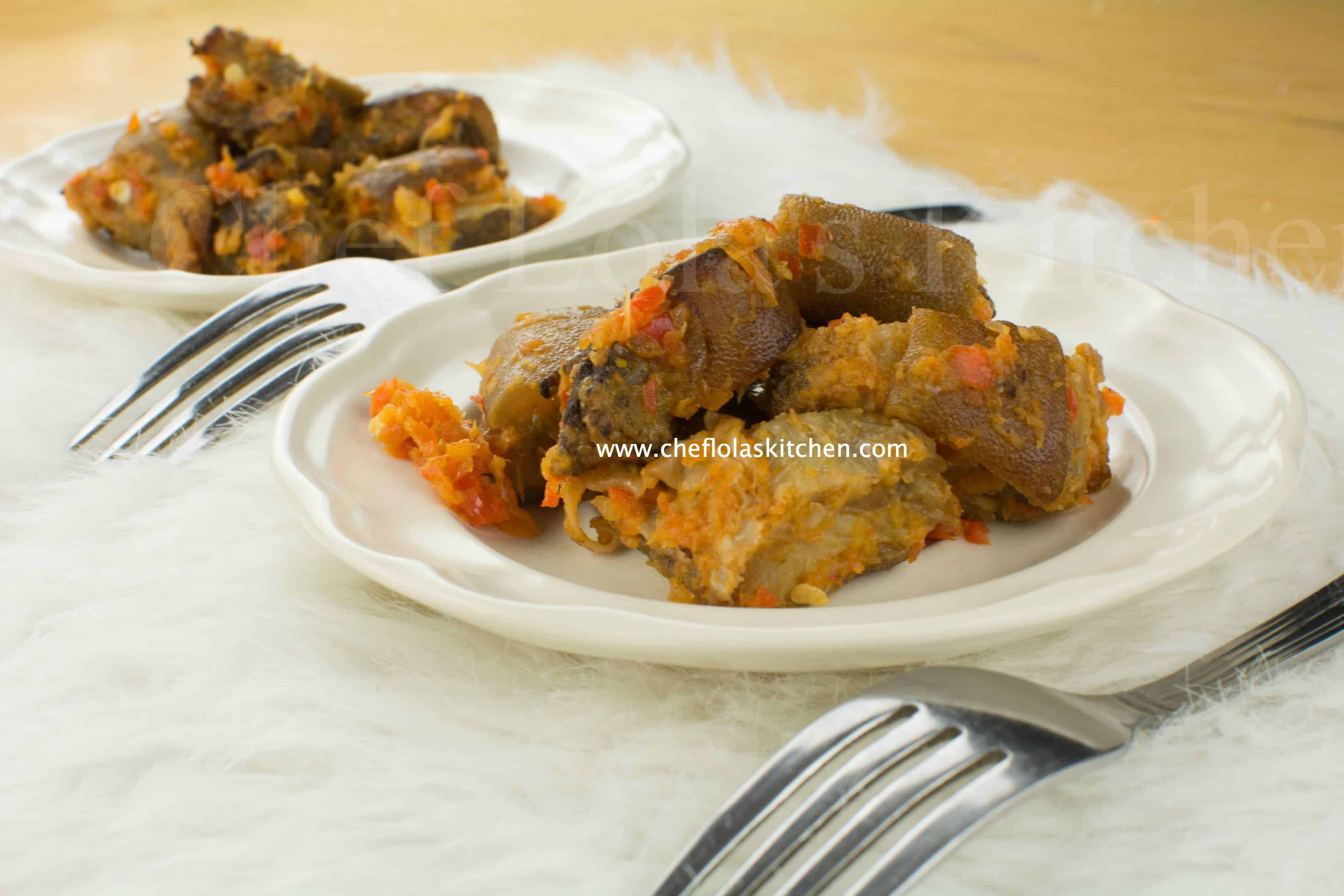 Asun (Nigerian smoked Goat Meat recipe)