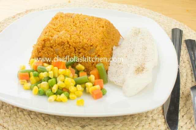 Couscous recipe - Jollof Couscous