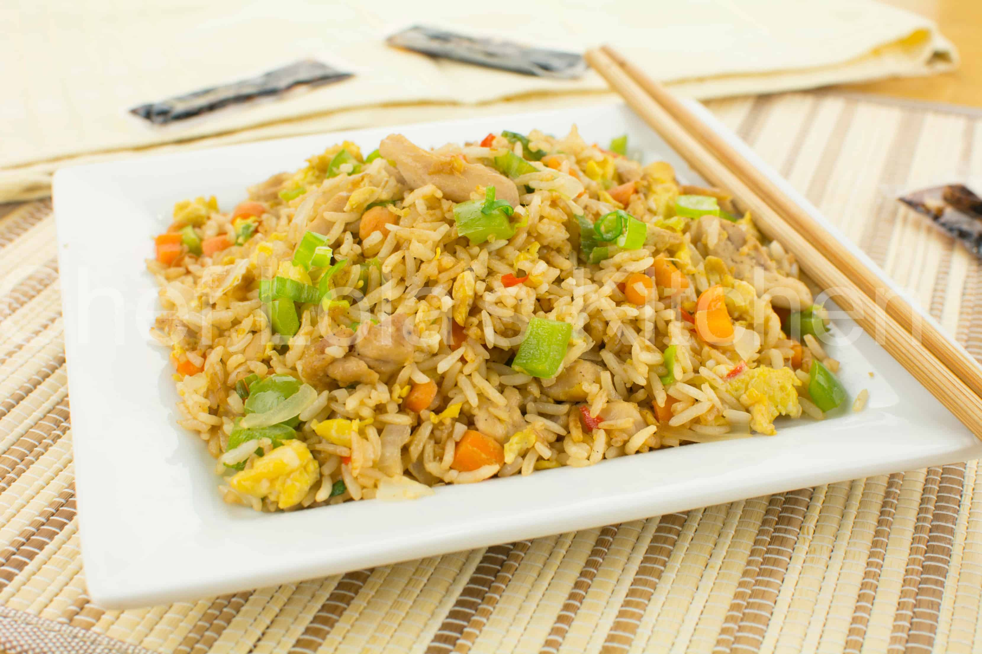 Chicken Fried Rice With Mixed Vegetables Chef Lola S Kitchen