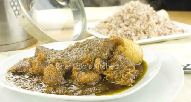 Ayamase Stew/Ofada stew
