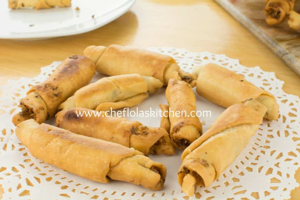 How to make the Nigerian Fish Roll
