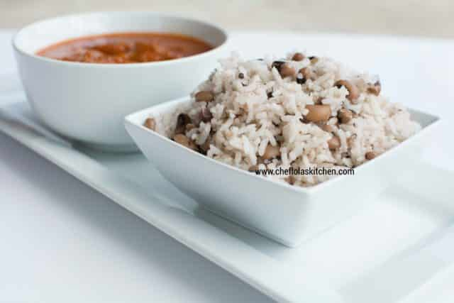 How to make the Nigerian Rice and Beans