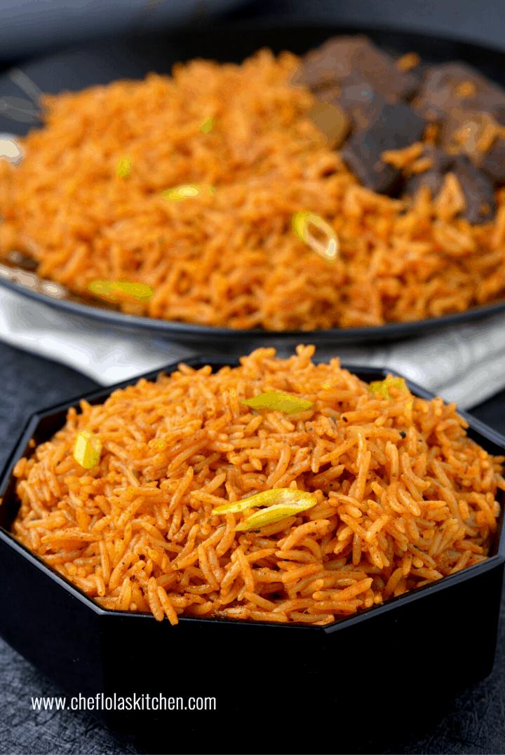 Basmati Jollof Rice Recipe
