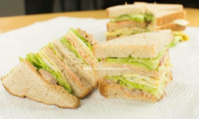 Easy Club sandwich recipe