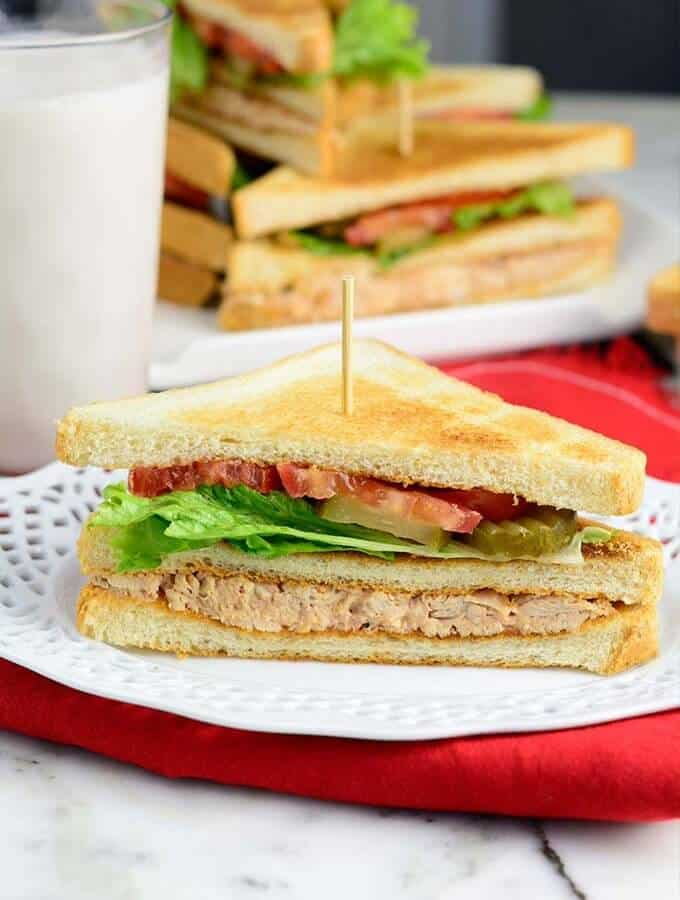 Easy Homemade Club sandwich recipe