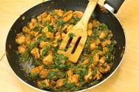 spinach Chicken stir fry