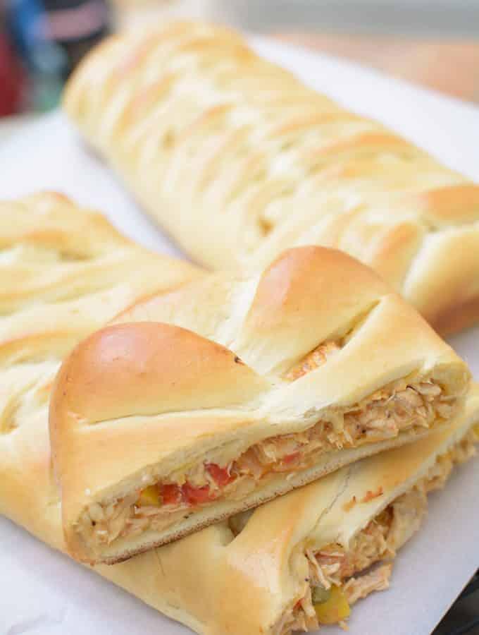 Chicken Bread Loaf