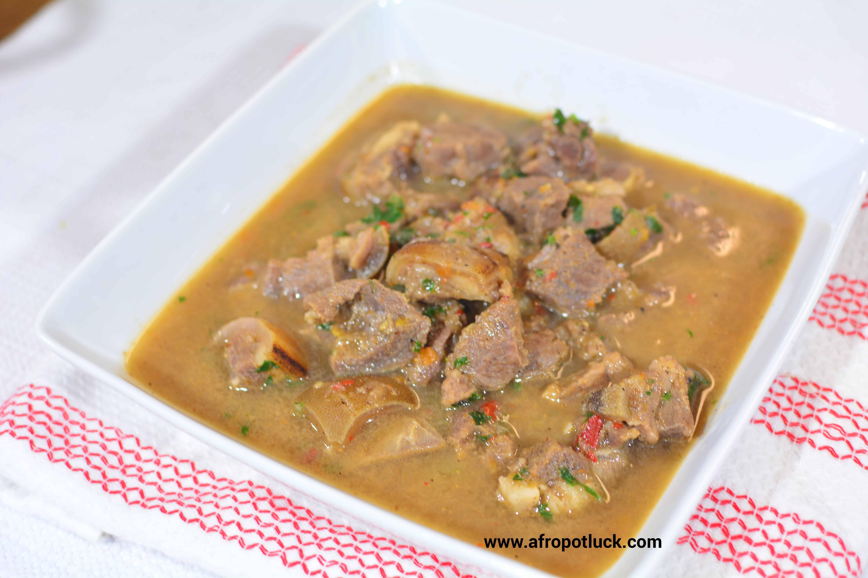 nigerian pepper soup � goat meat video