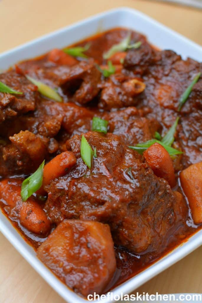 Easy oxtail recipe
