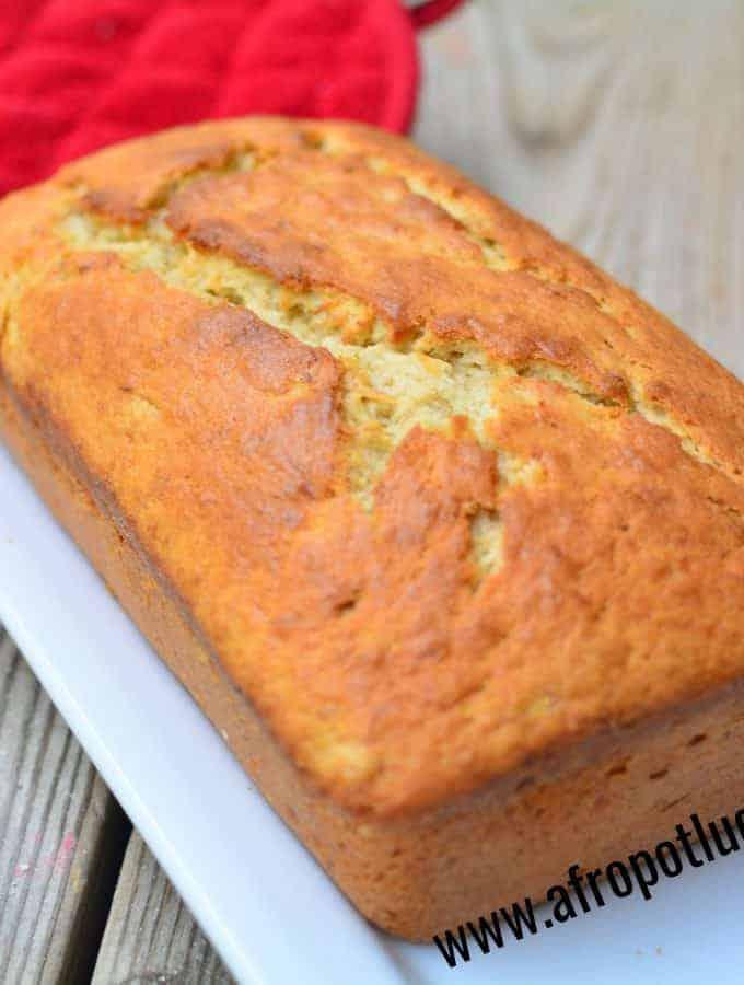 PLANTAIN CAKE/PLANTAIN BREAD