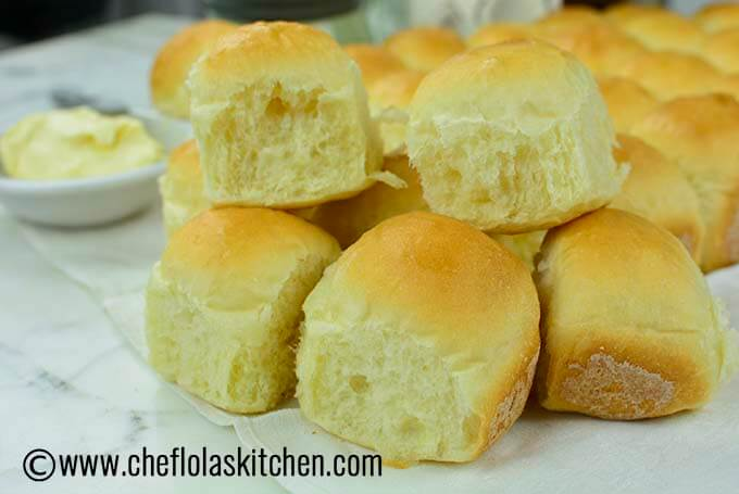 no knead bread rolls also know as soft dinner rolls09