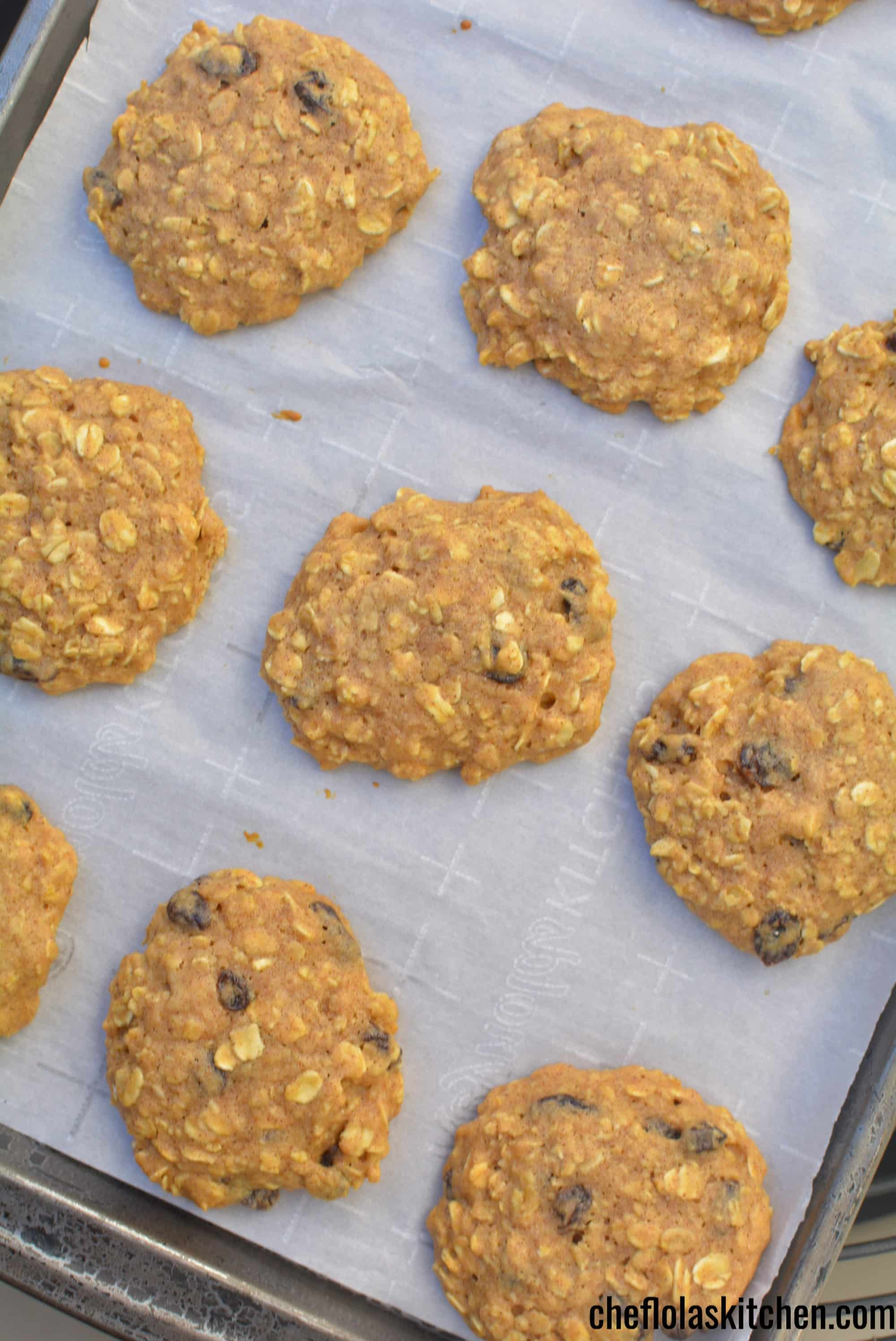 Sugar Free Oatmeal Cookies With Honey Video Chef Lola S