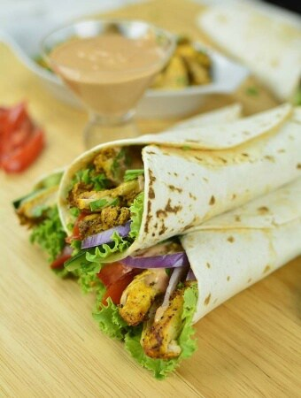 Easy Homemade Chicken Shawarma