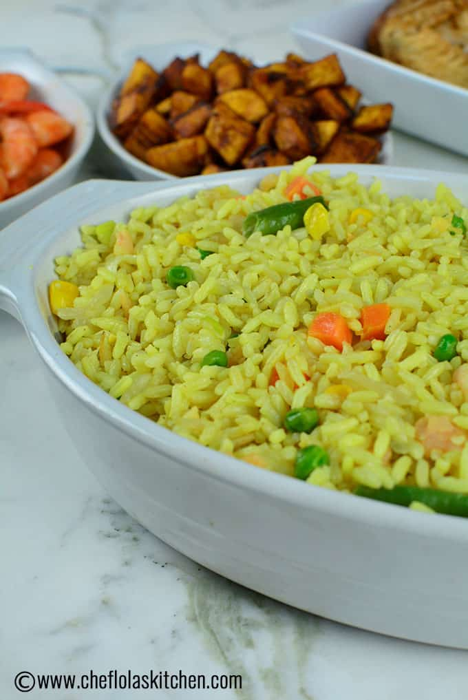 bowl of Shrimp Fried Rice