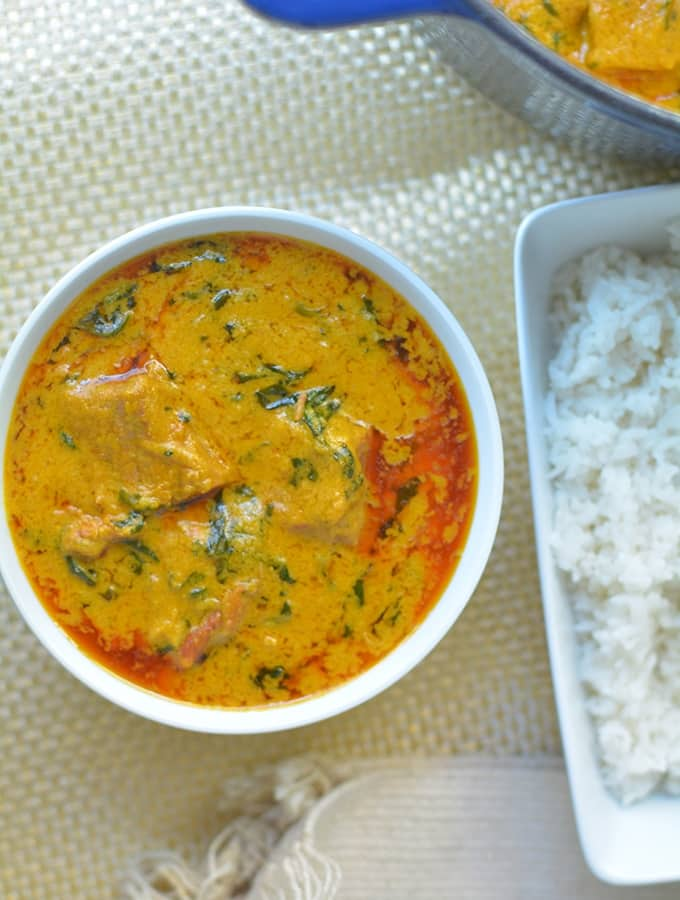 West African Peanut Soup (Maafe)