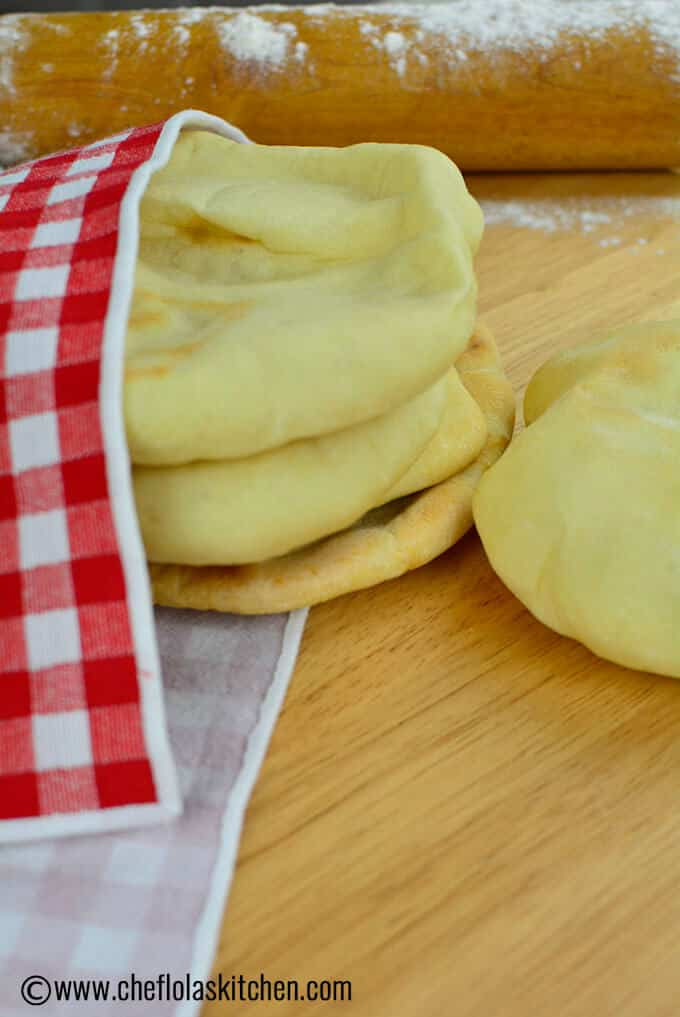This homemade Pita bread requires just 5 ingredients and you will have a Soft, fluffy, pillowy texture and tasty bread. This makes a great accompaniment to ...