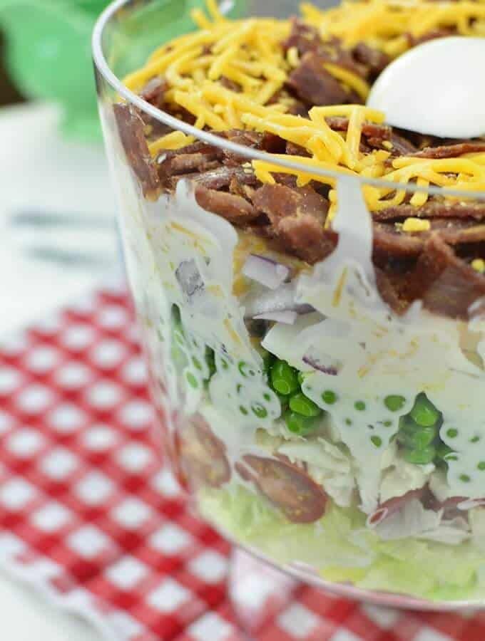 delicious make ahead seven layer salad