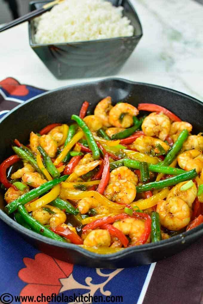 Shrimp Stir Fry - Quick and Delicious!