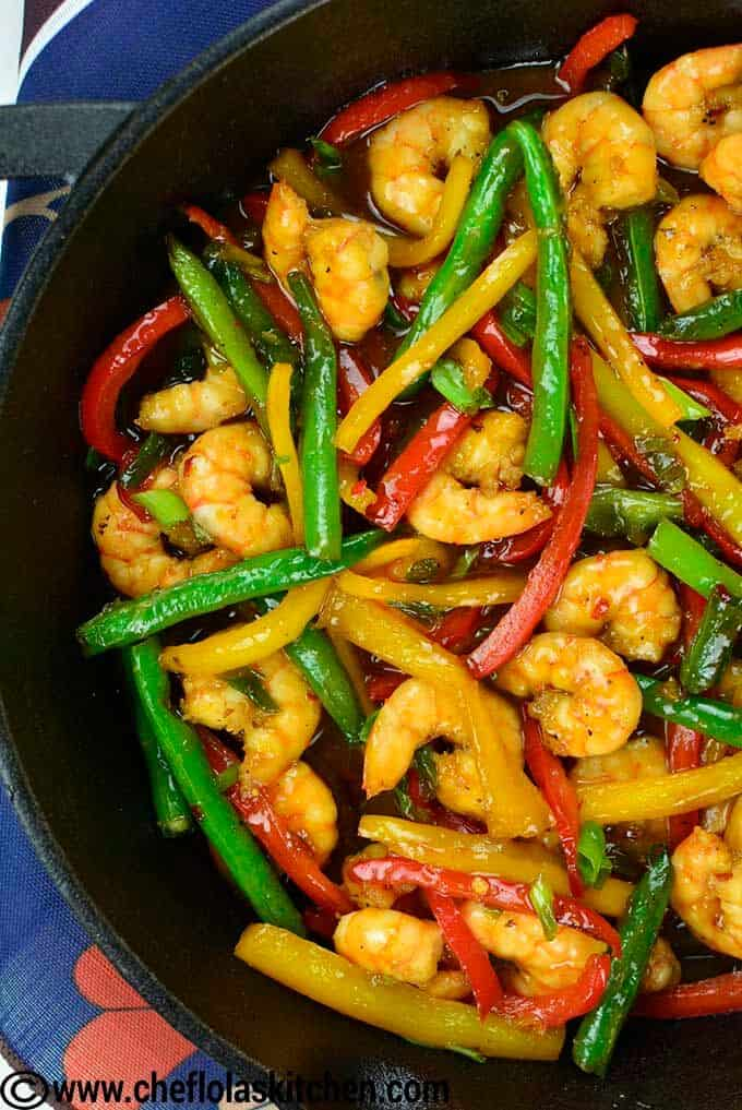 Delicious quick fix - Shrimp Stir Fry