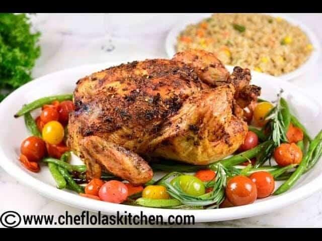Easy Dry Rub Roast Chicken