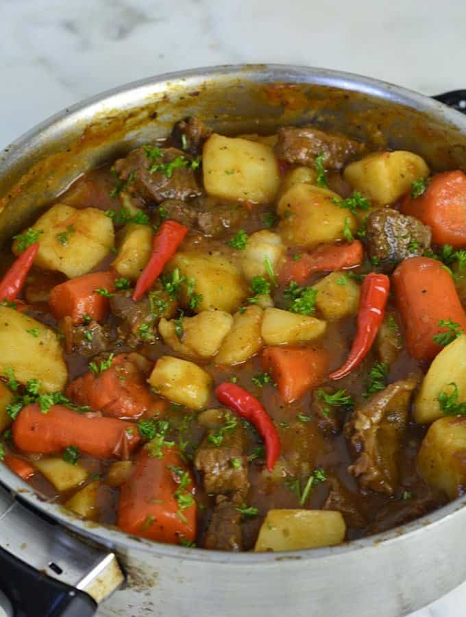 Stewed Beef Potatoes