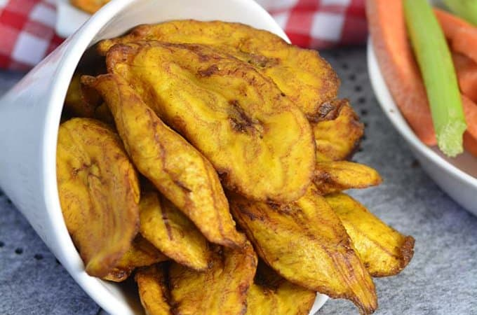 Deep fried sweet plantains