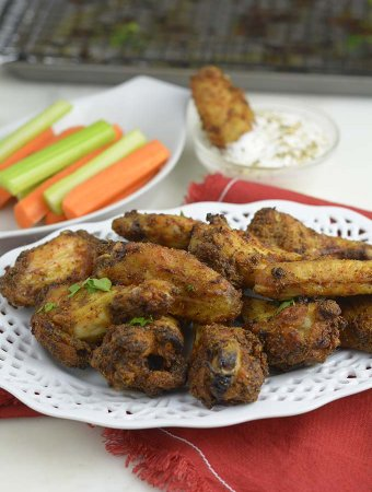 Baked Chicken Wings!