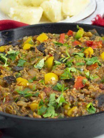 Delicious Eggplant Stew