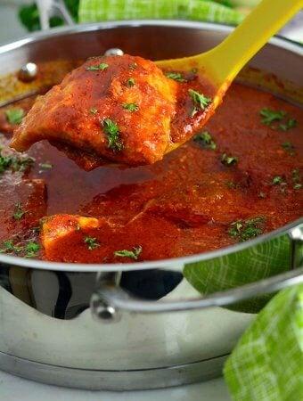 Hearty Salmon stew