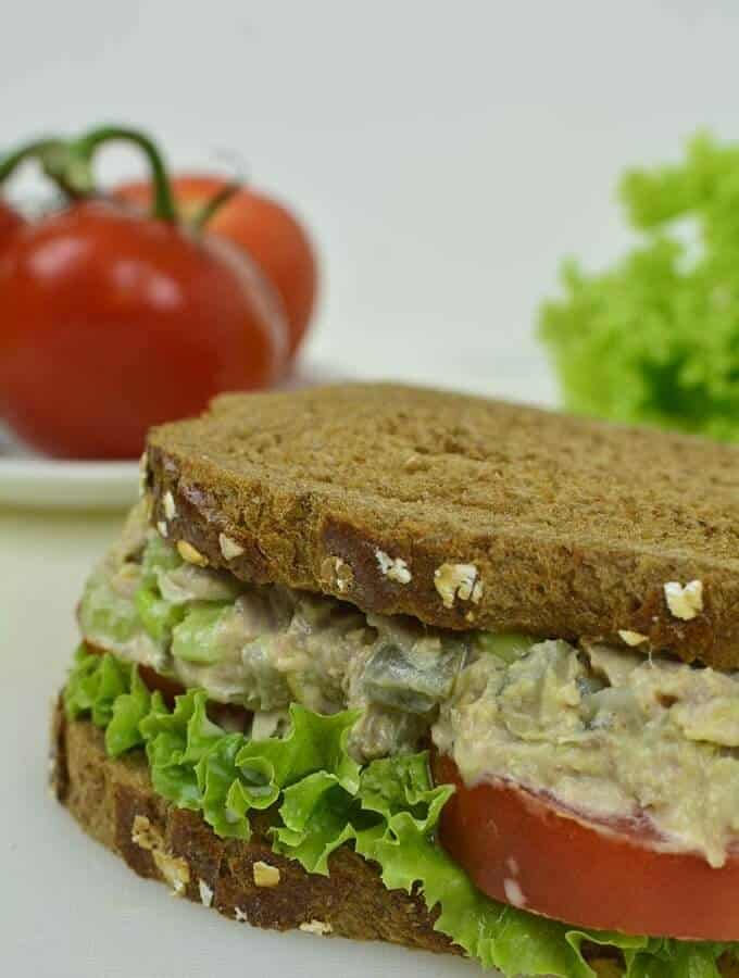 Turkey Salad Sandwich